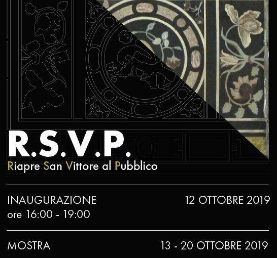 RSVP Riapre San Vittore al Pubblico