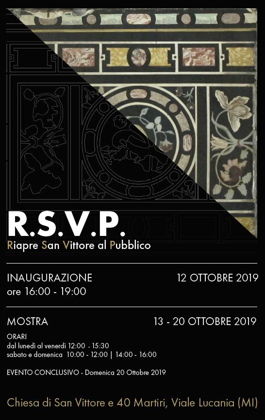 Riapre San Vittore al Pubblico 12.10.19