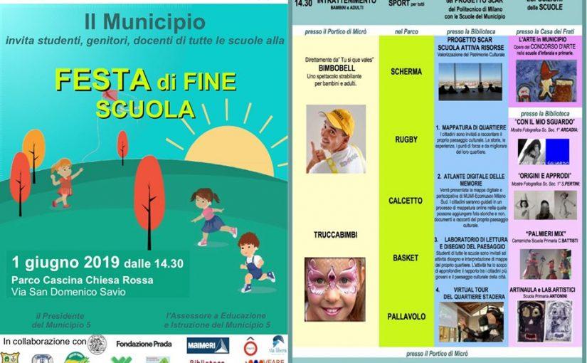 Festa delle scuole del Municipio 5