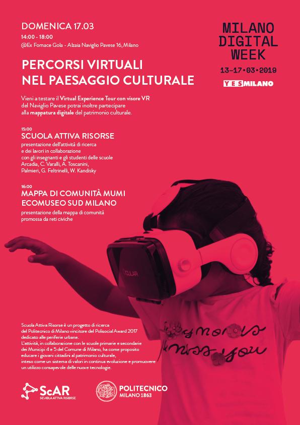 ScAR alla Milano Digital Week - 17.03.2019
