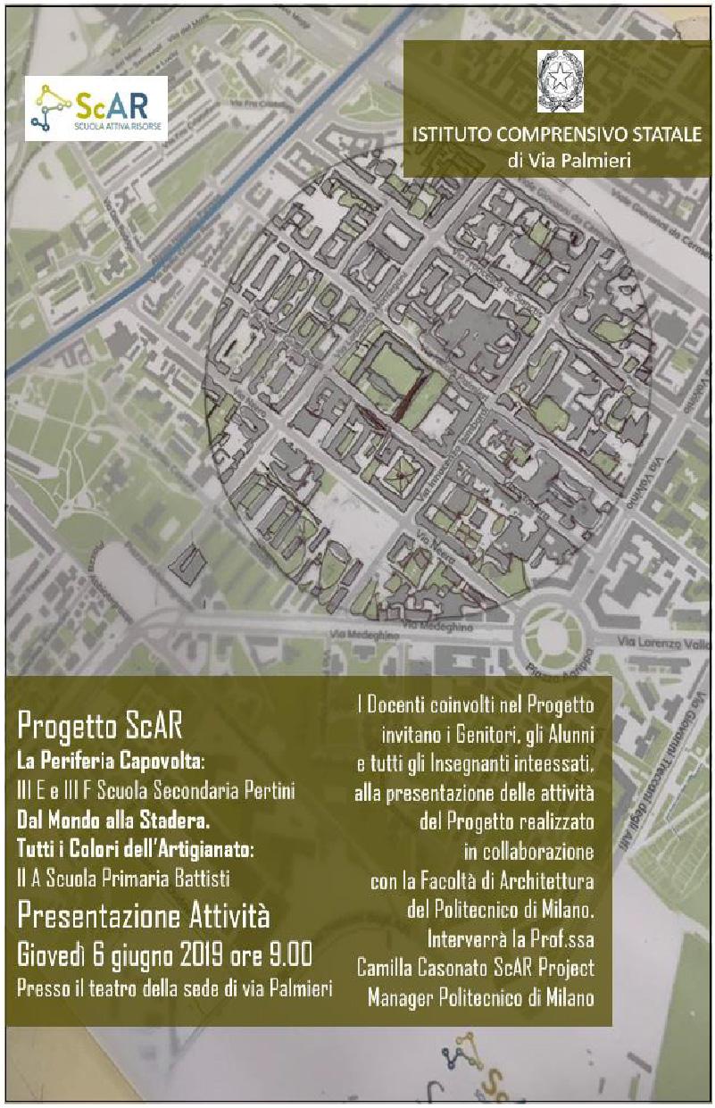 Presentazione alla Scuola Palmieri - 6.06.19